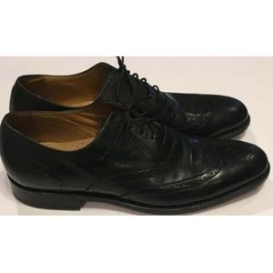 Florsheim Imperial Leather Brogue Wingtip Shoes